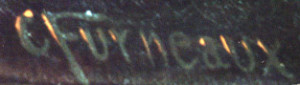 Artist Charles Furneaux's signature